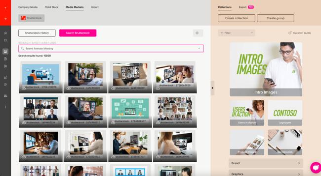 Multi-search Shutterstock