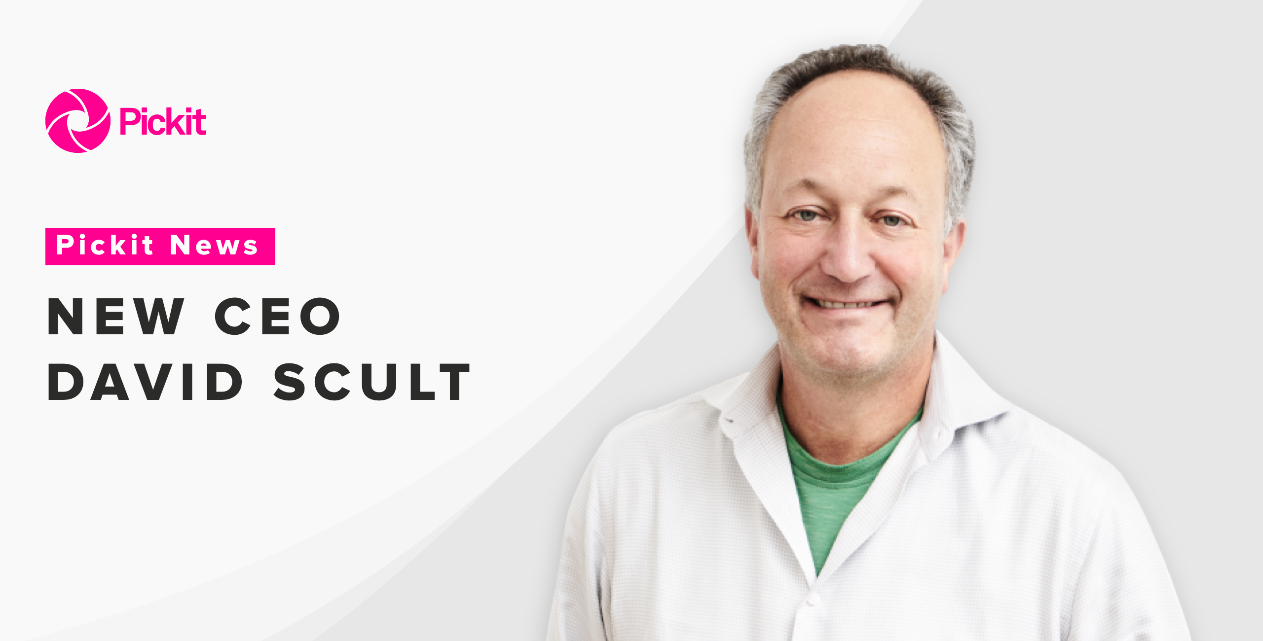 Pickit appoints David Scult as new CEO