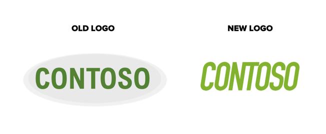 Old logo&New logo