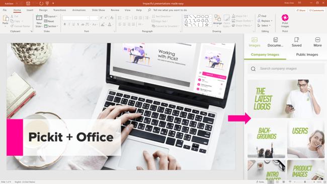 Pickit + Office