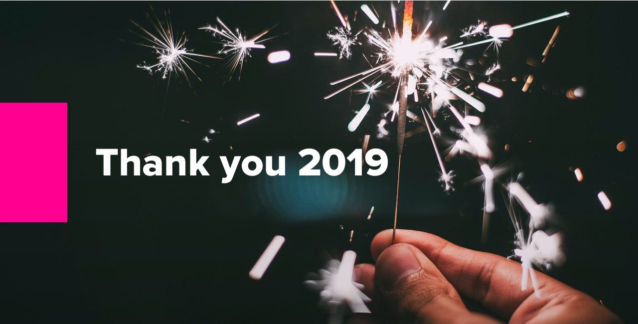 Thank you 2019